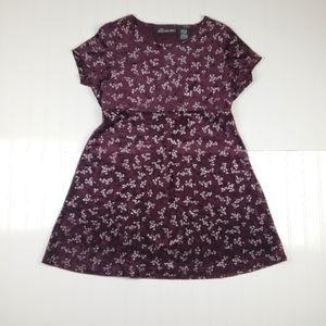 *Vintage* 1990's velvet babydoll mini dress